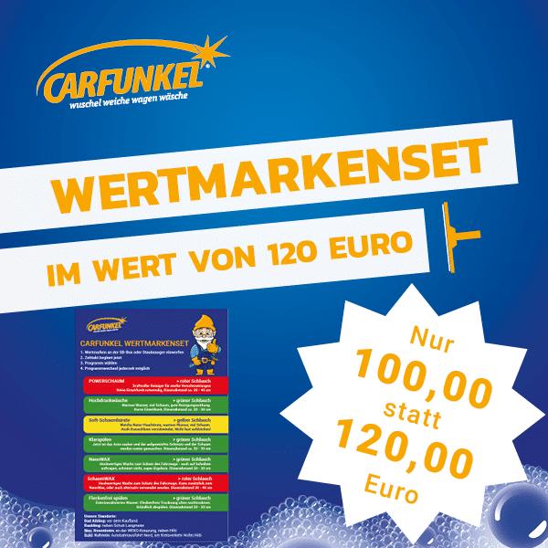 CARFUNKEL Wertmarkenset 120 Euro