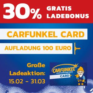 Carfunkel Ladeaktion 100